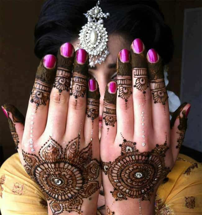 Latest Chand Raat Mehndi Design for Eid Ul Fitr