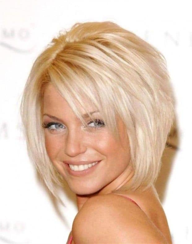 Short Hairstyles With Bangs simple and easy