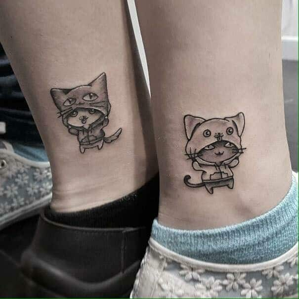 Lovely Tattoos for Boyfriend and Girlfriend 2017