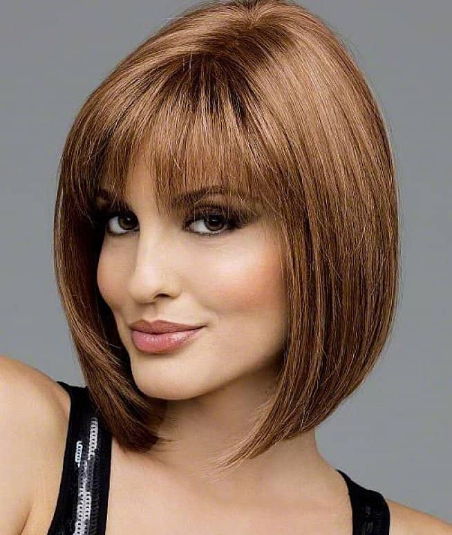 New Medium Short Bangs Hairstyles for Women
