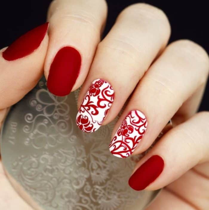 30 Festive Eid Nail Art Designs Images