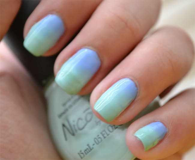 Simple Ombre Nail Designs for Women 2018