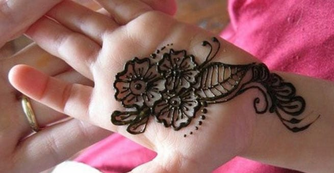 Stunning Kids Mehndi Designs for Eid 2016