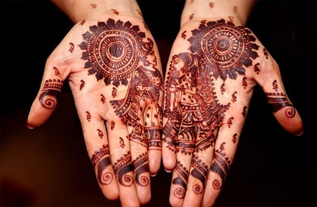 Mehndi Patterns Images : Beautiful rajasthani mehndi designs sheideas