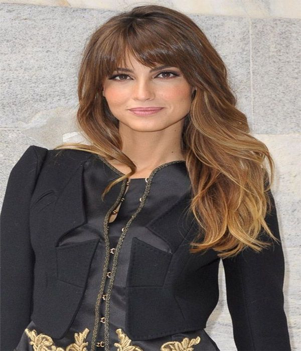 Stylish Long Fringe Hairstyle with Bangs 2017