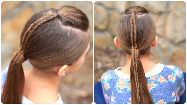 Super Fishtail Ponytail Hairstyles for Teen Girls 2016