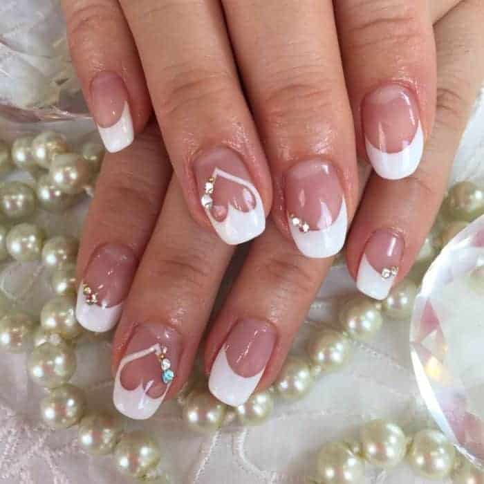 22 cute heart nail designs images for girls sheideas heart nail designs prinsesfo Choice Image