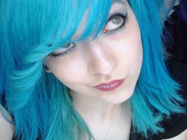 Wonderful Dyed Blue Hairstyles Ideas 2016-17