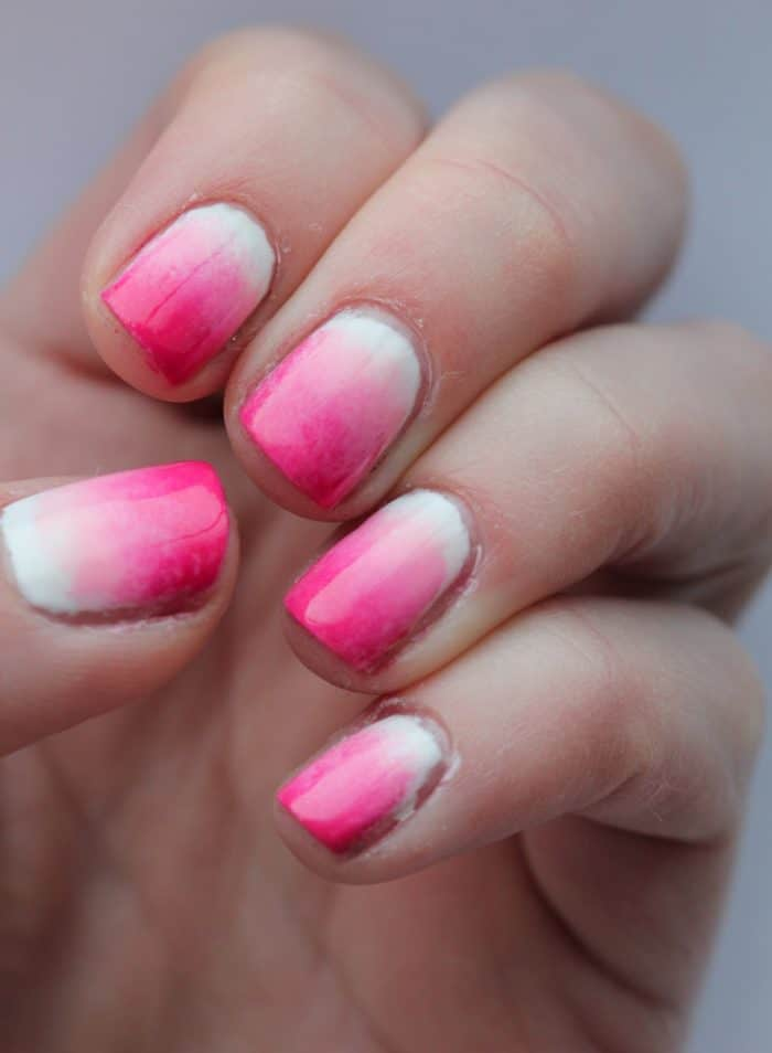 30 Dazzling Ombre Nail Art Ideas For Ladies Sheideas