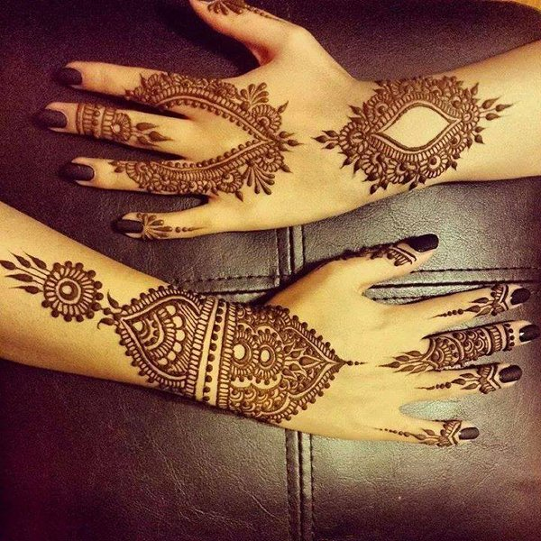 Amazing Hands Henna Designs for Eid Ul Azha
