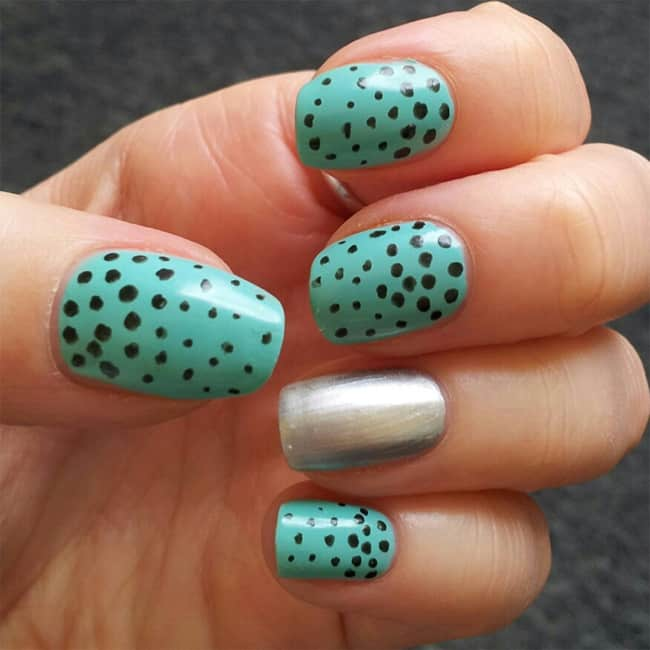 Amazing Polka Dot Nail Designs for Women