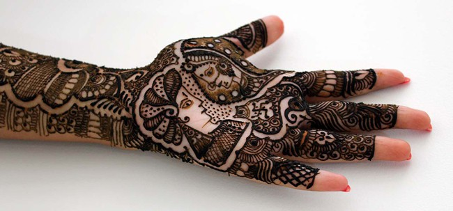Awesome Bridal Mehndi Design for Full Hands
