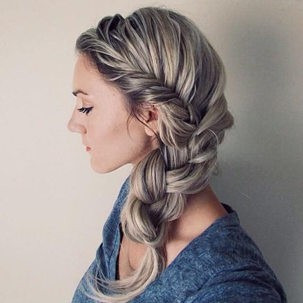 Awesome French Braided Twisted Crown Hairstyles