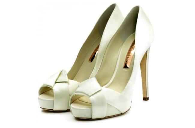 Awesome Ivory Shoes Designs for Wedding
