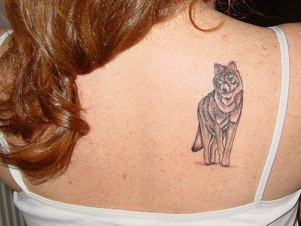 Awesome Wolf Tattoo Designs for Women