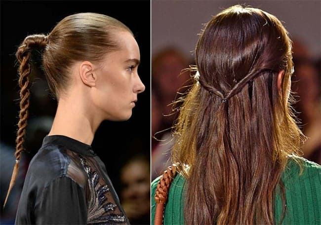 Beautiful Twisted Runway Hairstyles for Models