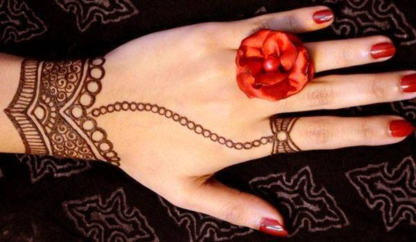 Beautiful Wrist and Finger Mehndi Ideas for Women