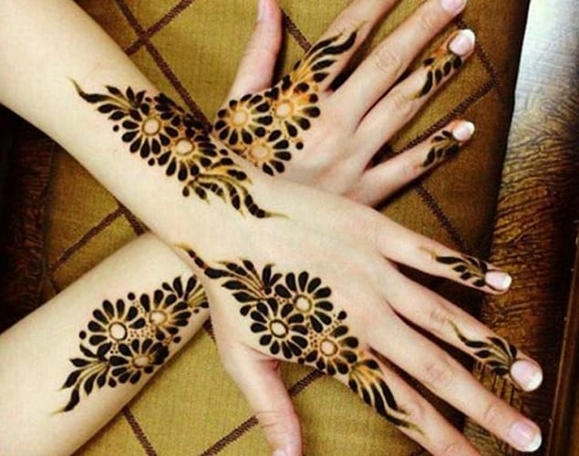 Cool Back Hands Punjabi Mehndi Designs 2016