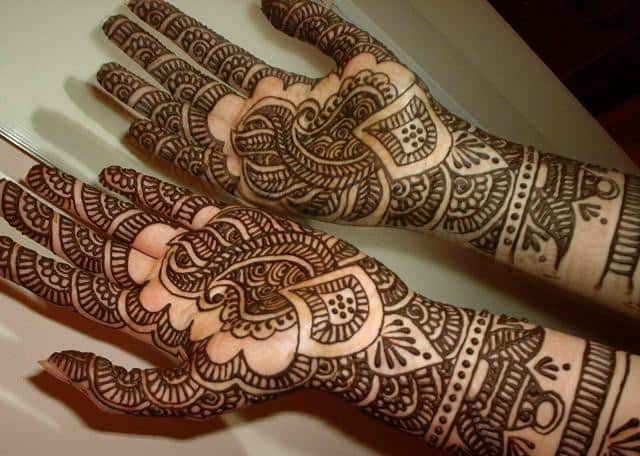 Cool Eid Ul Adha Arabic Mehndi Designs Pictures