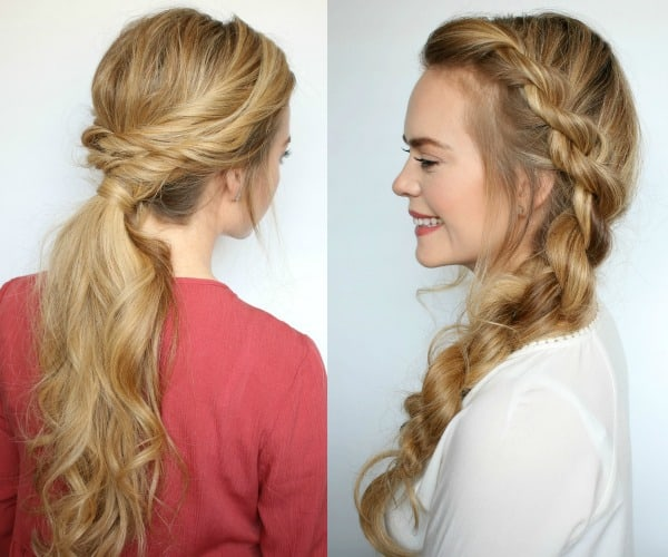 Easy Twisted Girls Hairstyles for Summer