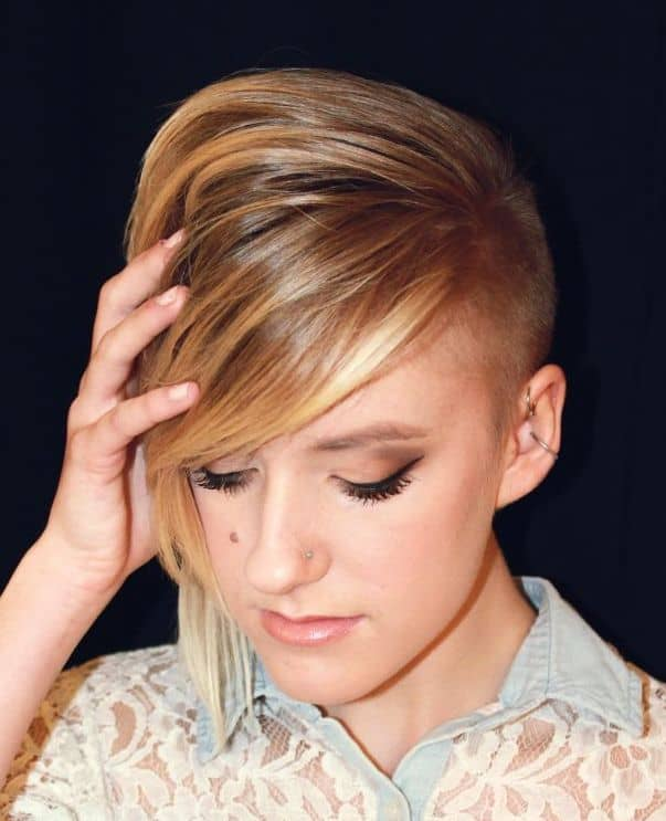 Elegant Funky Short Hairstyles Pictures