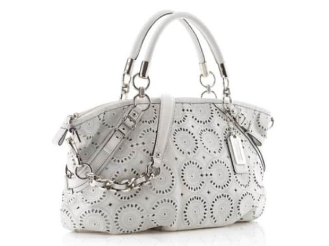 Exclusive White Lady Handbags for New Year