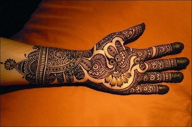 Fancy Mehndi Designs for Punjabi Girls 2016