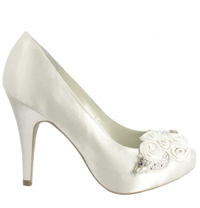 Good White Ivory Wedding Shoes Ideas