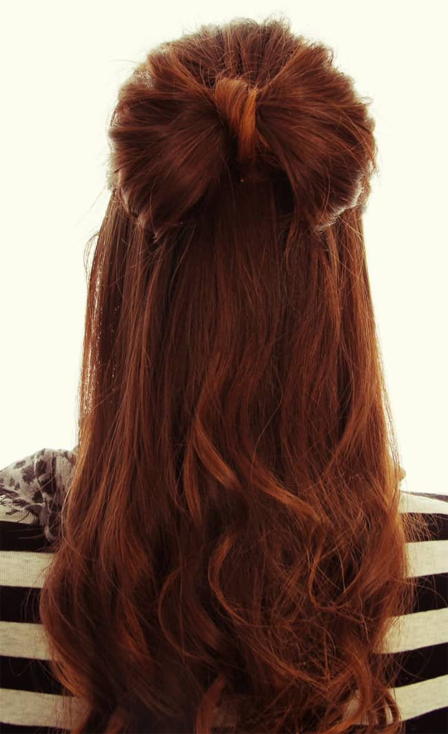 Hairstyle for long hair for wedding step by step