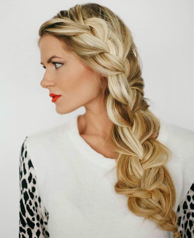 Latest Girls Side Braids for Long Hair