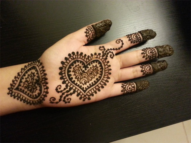 Latest Images of Arabic Henna Designs for Women