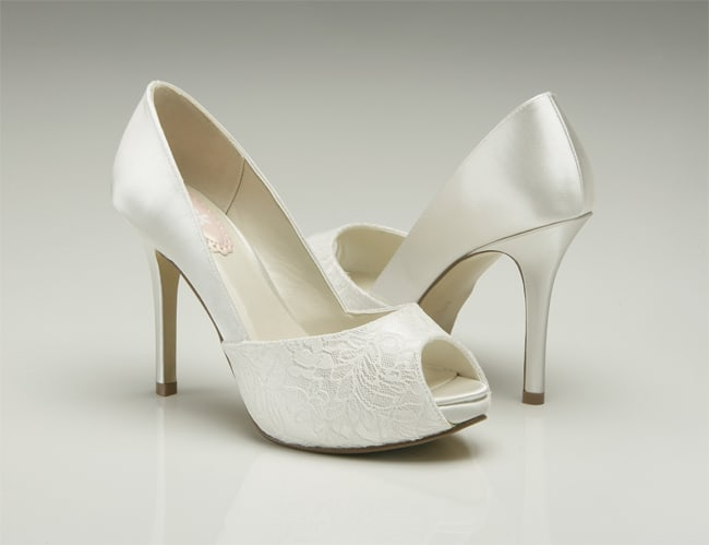New Flower Girl Ivory Shoes for Wedding