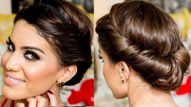 New Wedding Twisted Hairstyle Ideas 2016