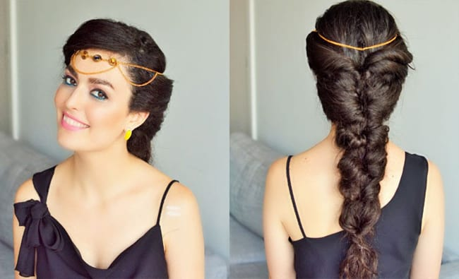 Romantic Braid Hairstyles for Long Hair for Party