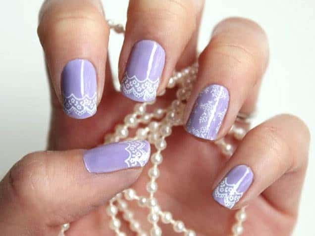 Stunning Bridal Nail Art Designs Pictures