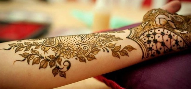 Stylish Arm Mehndi Design for Eid Ul Azha