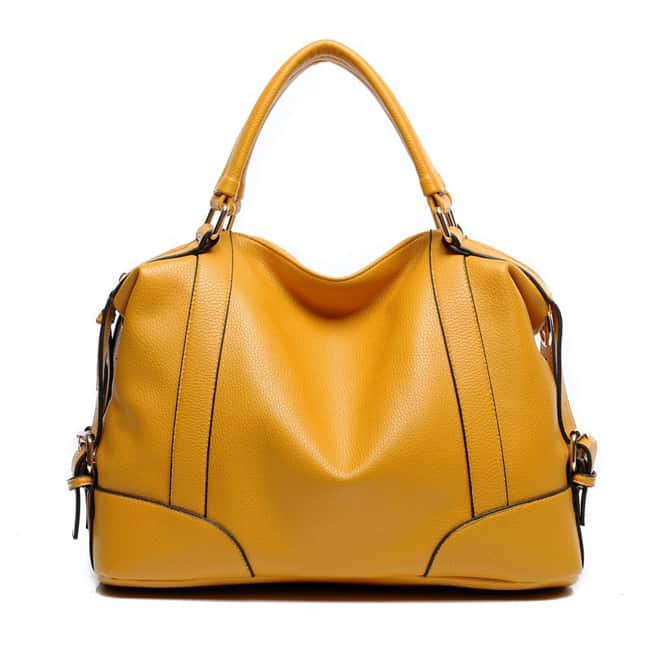 Women Yellow Handbag for Summer 2017