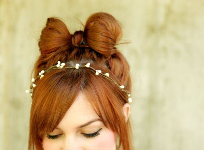 Wonderful Hair Bow Hairstyles for Brides 2016-17