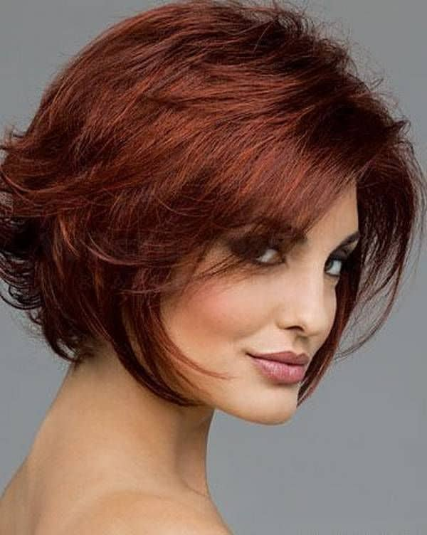 Amazing Short Haircuts for Round Faces