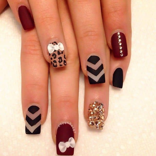 Awesome Matte Nails Designs for Girls 2016