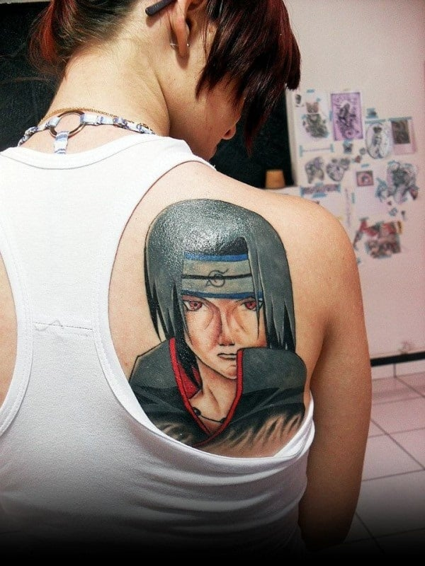 Awesome Naruto Tattoo Designs for Women