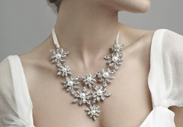 Beautiful Bridal Necklaces Ideas for Wedding