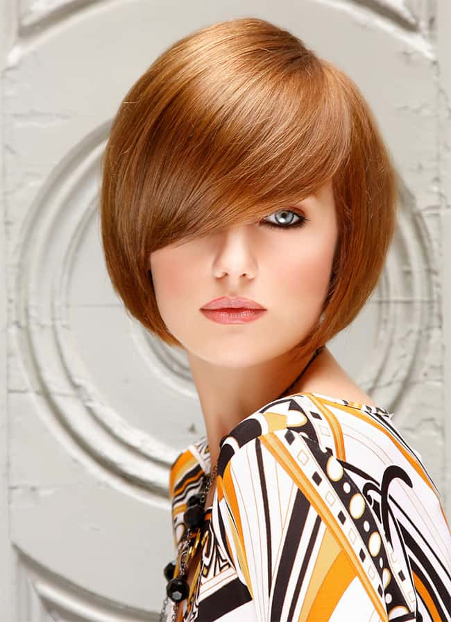 Beautiful Short Hairstyles for Long Face Women