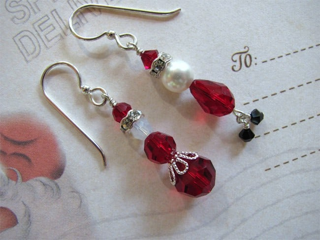 Beautiful Xmas Earrings Jewelry Gifts for Girls
