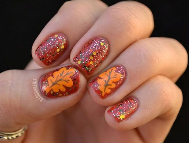 Breathtaking Fall Autumn Nail Art Designs for Women