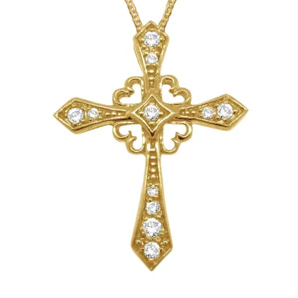Christmas Gold Cross Jewelry Designs Pictures