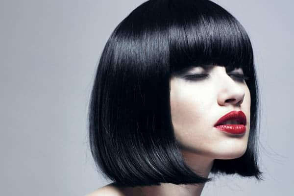 Creative Black Bob Cut Hairstyles With Bangs