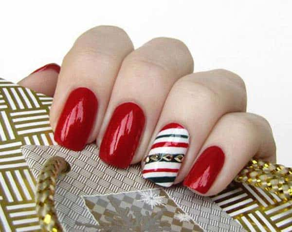 Creative Christmas Nails Designs