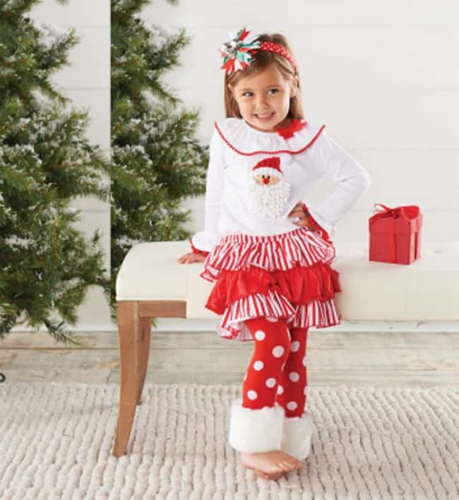 Cute Christmas Style Dresses for Baby Girl
