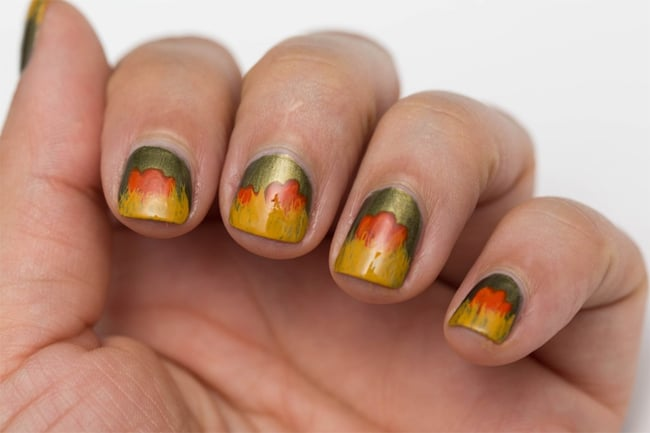 Cute Fall Season Nail Designs for Short Nails